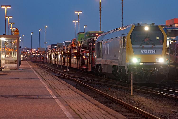 Voith Maxima in Westerland. Foto: Nahne Johannsen