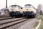 """Deutz 58143 - DB """"216 121-4"""" 05.04.1989 - FallerslebenHeinrich Hölscher"""
