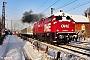 """Deutz 58143 - OHE Cargo """"200085"""" 18.01.2016 - Dresden-CossebaudeSteffen Kliemann"""