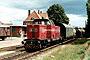 "MaK 1000016 - OHE ""120051"" 18.07.1989 - Amelinghausen-Sottorf, BahnhofChristoph Weleda"