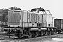 "MaK 1000018 - WHE ""21"" 12.09.1980 - Herne-Crange, Bahnhof Wanne WesthafenKlaus Görs"