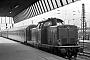 "MaK 1000019 - DB ""211 007-0"" 21.10.1978 Münster(Westfalen),Hauptbahnhof [D] Michael Hafenrichter"