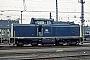 """MaK 1000022 - DB """"211 003-9"""" 27.03.1982 Münster,Bahnbetriebswerk [D] Werner Brutzer"""