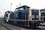 """MaK 1000023 - DB """"211 004-7"""" 01.06.1981 - Münster (Westfalen), BahnbetriebswerkMichael Hafenrichter"""