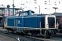 """MaK 1000025 - DB """"212 001-2"""" 09.03.1980 Münster,Hauptbahnhof [D] Werner Brutzer"""