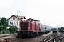 """MaK 1000040 - DB """"211 022-9"""" __.07.1985 - EbermannstadtWerner Brutzer"""