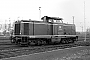 "MaK 1000042 - DB ""211 024-5"" 09.04.1984 Karlsruhe,Bahnbetriebswerk [D] Christoph Beyer"