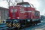 "MaK 1000045 - OHE ""120052"" 13.04.1985 - Wittingen, OHE-BahnhofIngmar Weidig"