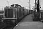 """MaK 1000063 - DB """"V 100 1045"""" 10.01.1967 Hamburg-Altona [D] Helmut Philipp"""