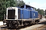 "MaK 1000077 - DB ""211 059-1"" 18.08.1986 Grafenau,Bahnhof [D] Martin Rese"