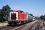 "MaK 1000079 - DB AG ""211 061-7"" 13.08.1997 Ebermannstadt,Bahnhof [D] Werner Brutzer"