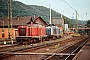 "MaK 1000084 - DB ""211 066-6"" 17.08.1991 - Marburg (Lahn), BahnbetriebswerkJulius Kaiser"