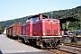 """MaK 1000109 - DB """"211 091-4"""" 09.08.1990 - Horb, BahnhofStefan Motz"""