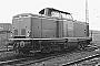 """MaK 1000135 - DB """"212 005-3"""" __.03.1969 - Bielefeld, BahnbetriebswerkRichard Schulz (Archiv Christoph und Burkhard Beyer)"""