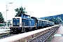 """MaK 1000150 - DB """"212 020-2"""" 04.07.1983 - Schongau, BahnhofWerner Brutzer"""