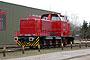 """MaK 1000156 - DLFS """"120054"""" 09.04.2005 - Hamburg-Billbrook, AKN-WerkstattHeinz Treber"""