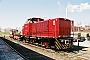 "MaK 1000156 - DLFS ""120054"" 31.03.2005 - Hamburg-Billbrook, Bahnbetriebswerk AKNBaldur Westphal"