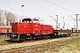 """MaK 1000156 - DLFS """"120054"""" 17.04.2005 - Hamburg-Waltershof, HansaportBaldur Westphal"""