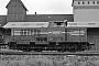 """MaK 1000156 - OHE """"120054"""" 13.07.1984 - Soltau, Bahnbetriebswerk Soltau SüdDietrich Bothe"""