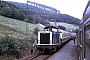 "MaK 1000158 - DB ""212 022-8"" 18.10.1985 - bei WinterbergWerner Brutzer"