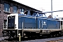 "MaK 1000158 - DB ""212 022-8"" 17.06.1989 Krefeld,Bahnbetriebswerk [D] Werner Brutzer"