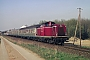 "MaK 1000159 - DB ""212 023-6"" 07.04.1992 - DieburgKurt Sattig"