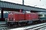 """MaK 1000159 - DB """"212 023-6"""" 08.01.1982 Münster,Hauptbahnhof [D] Werner Brutzer"""