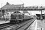 """MaK 1000159 - DB Cargo """"212 023-6"""" 11.02.2002 - Marburg (Lahn), BahnhofJulius Kaiser"""