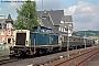 """MaK 1000161 - DB """"212 025-1"""" 21.08.1993 - Bad Berleburg, BahnhofNorbert Schmitz"""