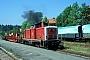 """MaK 1000168 - DB Cargo """"212 032-7"""" 27.07.1999 - SchaftlachWerner Brutzer"""