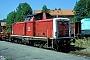 """MaK 1000168 - DB Cargo """"212 032-7"""" 27.07.1999 Schaftlach [D] Werner Brutzer"""