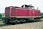 """MaK 1000172 - DB """"212 036-8"""" 22.08.1982 - Ober RodenKurt Sattig"""
