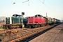 """MaK 1000174 - DB """"212 038-4"""" 10.11.1981 Dieburg,Bahnhof [D] Kurt Sattig"""