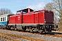 """MaK 1000188 - EfW """"212 052-5"""" 22.03.2015 - Hachenburg (Westerwald)Armin Schwarz"""