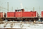 """MaK 1000188 - DB Cargo """"212 052-5"""" 21.01.2001 - Darmstadt, BahnbetriebswerkJulius Kaiser"""
