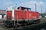 "MaK 1000190 - DB AG ""212 054-1"" 16.08.1995 Worms,Hauptbahnhof [D] Ingmar Weidig"