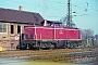 """MaK 1000196 - DB """"212 060-8"""" 10.11.1981 - Dieburg, BahnhofKurt Sattig"""