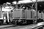"""MaK 1000203 - DB """"212 067-3"""" 25.02.1989 - Wuppertal-Steinbeck, BahnbetriebswerkMalte Werning"""