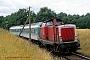 "MaK 1000204 - DB Cargo ""212 068-1"" 19.07.2001 Elfershausen-Trimberg [D] Stefan Motz"