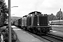 "MaK 1000221 - DB ""212 085-5"" 23.08.1975 BadDriburg,Bahnhof [D] Michael Hafenrichter"