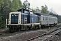 "MaK 1000221 - DB ""212 085-5"" 25.04.1989 - WindelsbleicheDietmar Thauer"