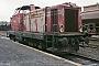 """MaK 1000245 - HEG """"V 32"""" 27.07.1984 Philippsthal,Bahnhof [D] Ingmar Weidig"""