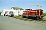 "MaK 1000245 - BLE ""V 100 PA 32"" 04.06.1998 - Butzbach, BLE-Bahnhof Butzbach-OstMathias Bootz"
