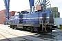 """MaK 1000245 - Rhenus Rail """"40"""" 01.05.2012 Mannheim,Hafen [D] Ernst Lauer"""