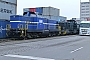 "MaK 1000245 - Rhenus Rail ""40"" 21.12.2013 - Mannheim, HafenJoachim Lutz"