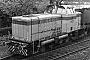 "MaK 1000250 - WHE ""15"" 03.05.1983 - Herne-Crange, Bahnhof Wanne WesthafenKlaus Görs"