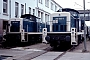 """MaK 1000263 - DB """"290 005-8"""" 29.07.1990 - Mannheim, BahnbetriebswerkErnst Lauer"""