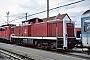 """MaK 1000270 - DB Cargo """"290 012-4"""" 01.10.2001 - Darmstadt, BetriebshofErnst Lauer"""