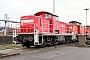 """MaK 1000274 - DB Schenker """"290 516-4"""" 18.01.2014 - Seevetal-Maschen, RangierbahnhofAndreas Kriegisch"""