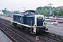 """MaK 1000275 - DB """"290 017-3"""" 14.06.1987 - Speyer, BahnhofErnst Lauer"""